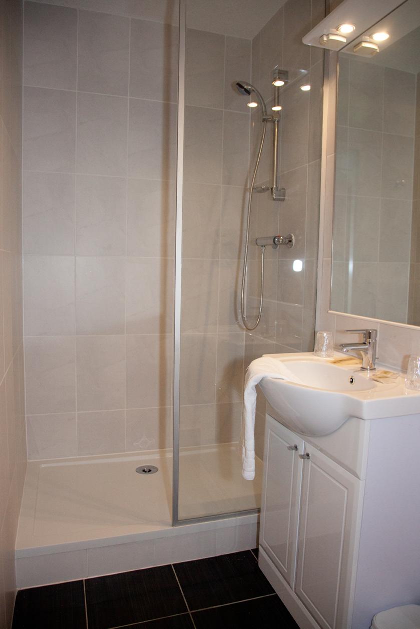 Chambre d'hôtel Twin, salle de bain
